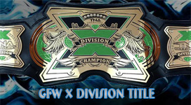 GFW X Division Championship Title History