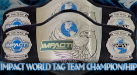 Impact World Tag Team Championship Title History