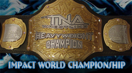 TNA World Heavyweight Championship Title History