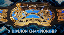 TNA X Division Championship Title History